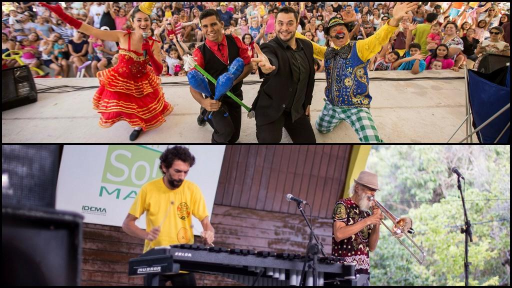 Resultado de imagem para Domingo de teatro, música e brincadeiras no Parque das Dunas